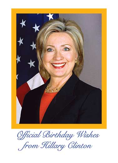 hillary clinton birthday card ; low_Official%2520Hillary%2520Birthday_cover