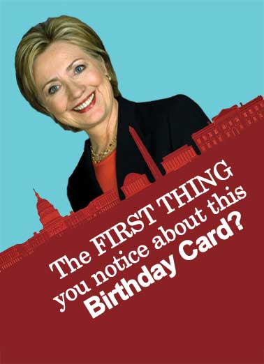 hillary clinton birthday card ; low_Thing%2520You%2520Notice_cover