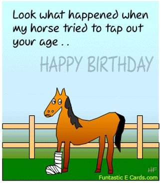 horse birthday card sayings ; 5010862e0419083620805468438ef4ad--free-funny-birthday-ecards-funny-happy-birthday-pics