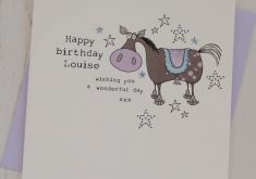 horse birthday card sayings ; new-horse-birthday-card-personalised-by-eggbert-daisy-235x165