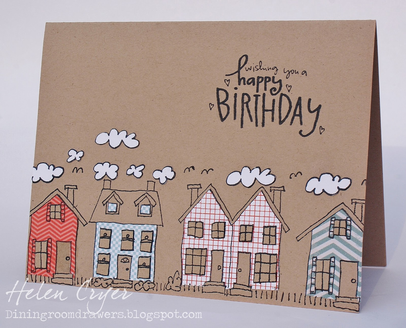 house birthday card ; DSC02777