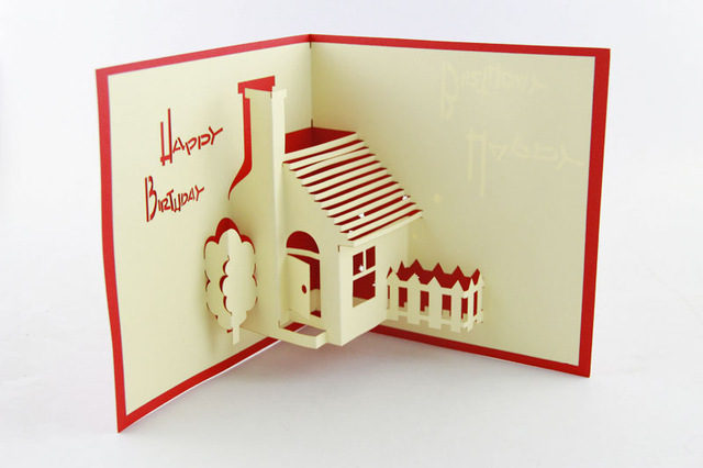 house birthday card ; House-Party-Pop-Up-Greeting-Card-happy-birthday-greeting-card