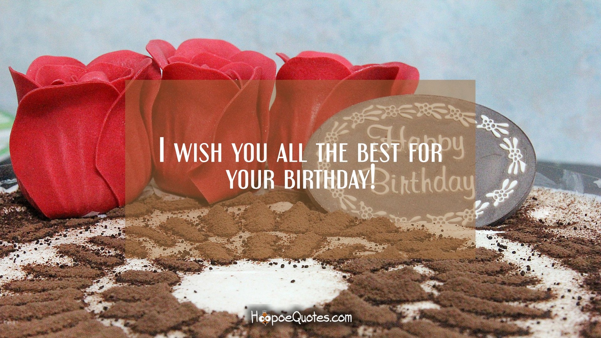 i wish you all the best for your birthday ; 7b2d0253a86c531efab65997d38814b5