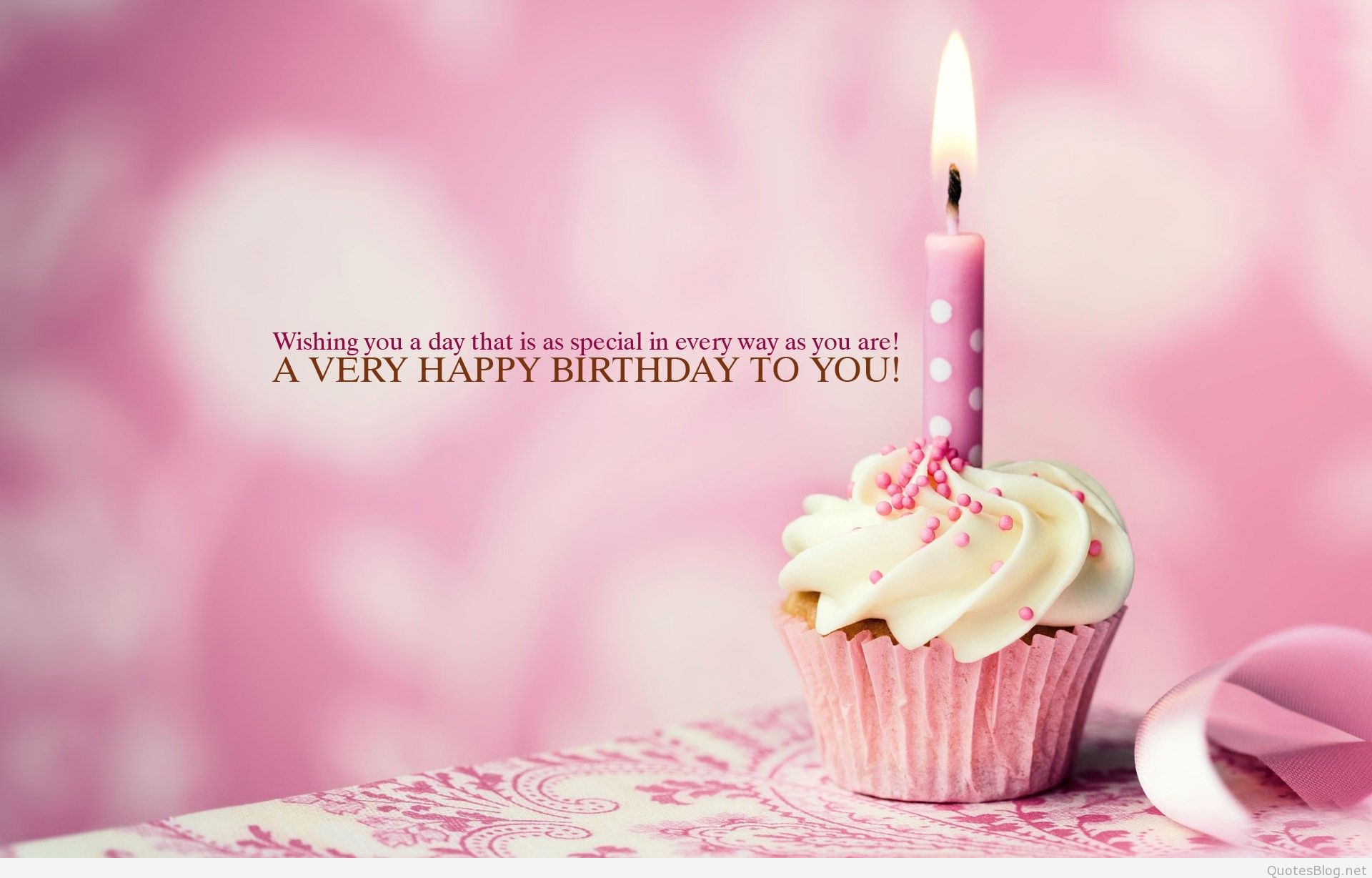 i wish you all the best for your birthday ; Pink-Birthday-Quote-Wallpaper-iPhone