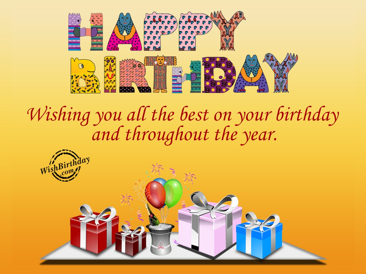i wish you all the best for your birthday ; Wishing-You-All-The-Best-On-Your-Birthday