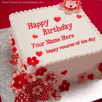 image of birthday wishes with name ; birthday-wishes-for-friends-cake-with-name-4