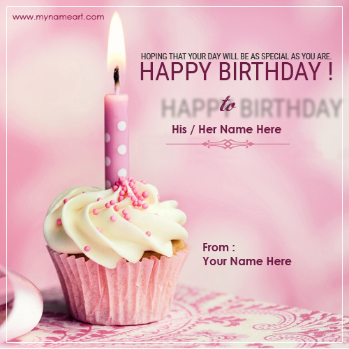 image of birthday wishes with name ; happy-birhtday-cake-wishes-demo