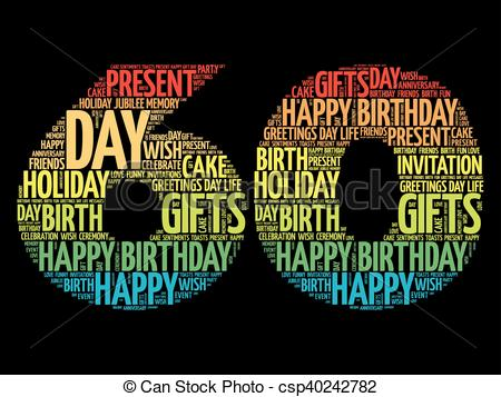 image of happy 60th birthday ; happy-60th-birthday-word-cloud-eps-vector_csp40242782
