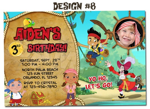 jake and the neverland pirates birthday card print ; jake-and-the-neverland-pirates-birthday-card-print-jake-and-the-neverland-pirates-photo-birthday-invitations--printable-9879afd8