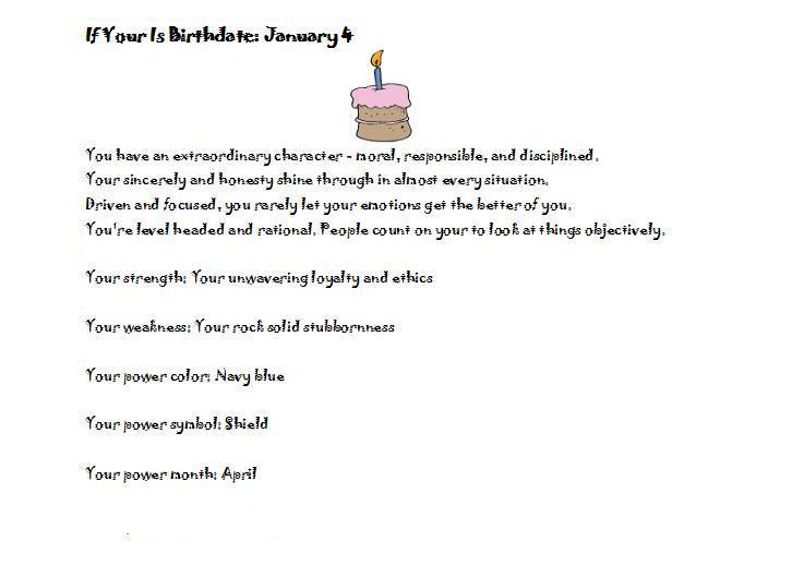 january birthday wallpaper ; Birthday-personality-January-4-personality-test-1499179-737-529