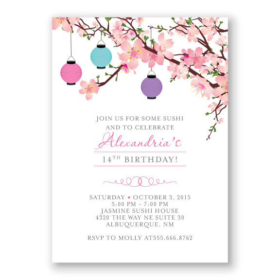 japanese birthday invitation templates ; cherry_blossom_birthday_invitation_japanese_inspired_birthday_party_paper_lanterns_tween_invitation_582dcfe81_3