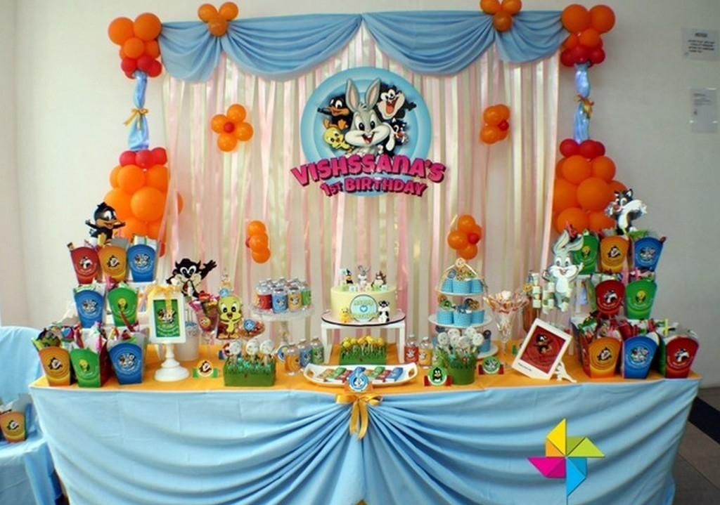 kids birthday party decoration ideas ; Creative-Candy-Table-Design-Ideas-With-Cartoon-Theme-For-Kids-Birthday-Party-Decoration