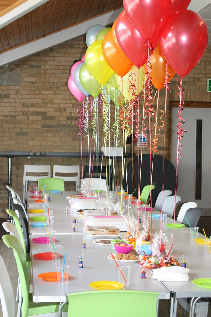 kids birthday party decoration ideas ; party-table-decorating-ideas-balloon-decorations-parties-best-25-birthday-on-pinterest-baby