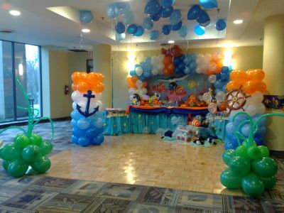 kids birthday party decoration ideas ; theme5