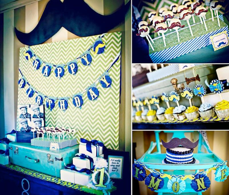kids birthday party themes for boys ; Mustache-Bash-1st-Birthday-Party-via-Karas-Party-Ideas-karaspartyideas