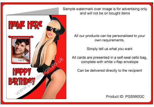 lady gaga birthday card ; lady-gaga-birthday-card-a5-personalised-with-name-and-photo-pgs990gc-3582-p