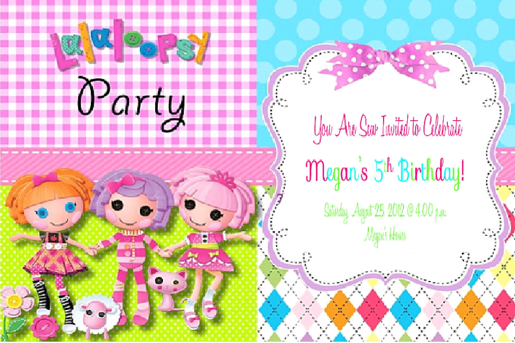 lalaloopsy birthday invitation wording ; 0ba95b02dba2ee450924f1dc621560af