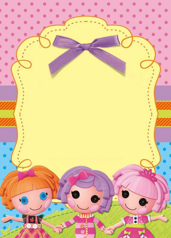 lalaloopsy birthday invitation wording ; 276f440326bf407191e26438ebb555dc