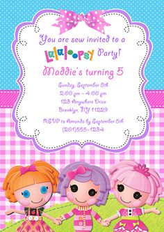 lalaloopsy birthday invitation wording ; 389ad12fd6f45b810f92756237bc24da--invitations-kids-birthday-party-invitations