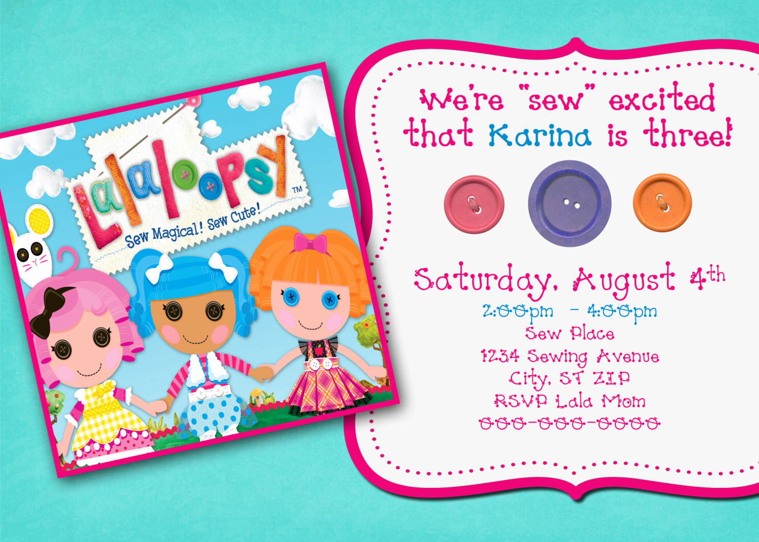 lalaloopsy birthday invitation wording ; 4th-birthday-invitation-wording-luxury-lalaloopsy-inspired-birthday-invitation-of-4th-birthday-invitation-wording