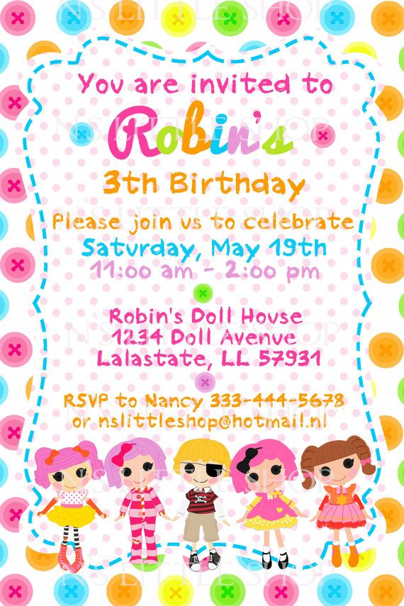 lalaloopsy birthday invitation wording ; fe8043c1d1592ff7ddf551fe4c1e226a