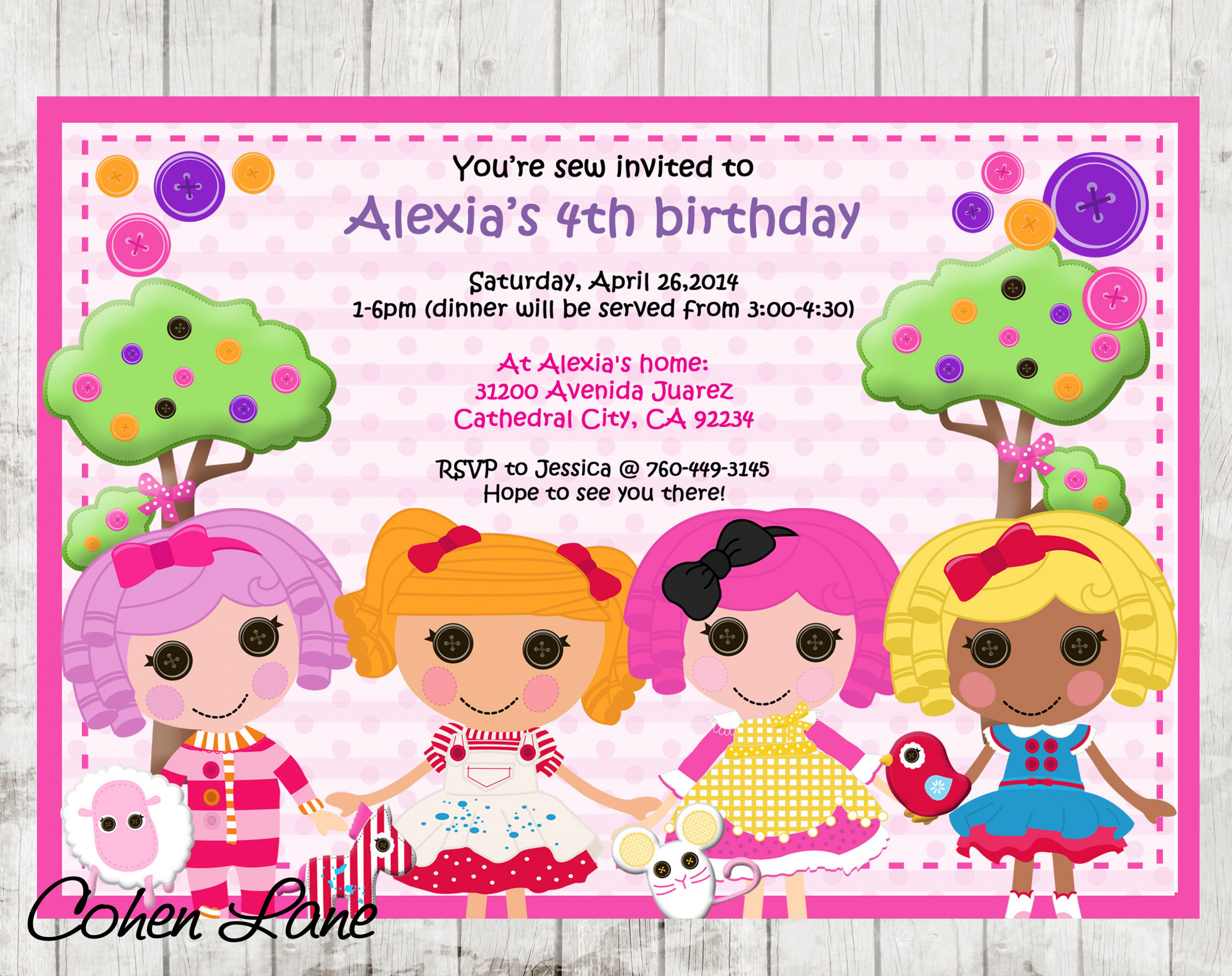 lalaloopsy birthday invitation wording ; wording-for-40th-birthday-party-invitation-birthday-joyously-domestic-lalaloopsy-party-lalaloopsy-birthday