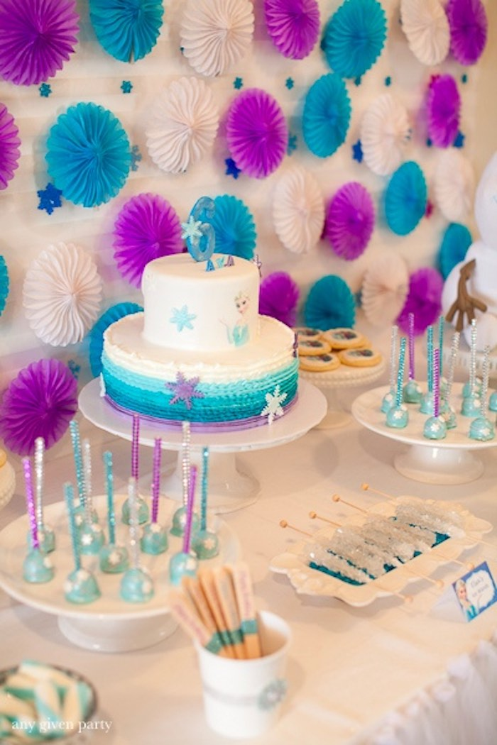 latest birthday party themes ; Frozen-Birthday-Party-via-Karas-Party-Ideas-KarasPartyIdeas