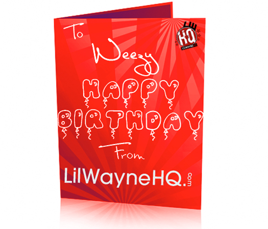 lil wayne birthday quote ; lil-wayne-28-birthday