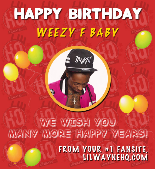 lil wayne birthday quote ; lil-wayne-31-birthday-card
