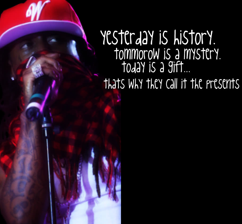 lil wayne birthday quote ; nx2u4h