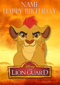 lion guard birthday card ; s-l300