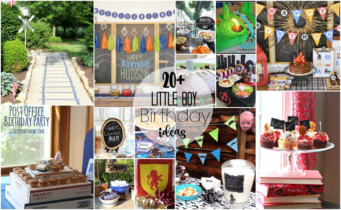 little boy birthday themes ; 20-little-boy-birthday-party-theme-ideas-This-is-our-Bliss