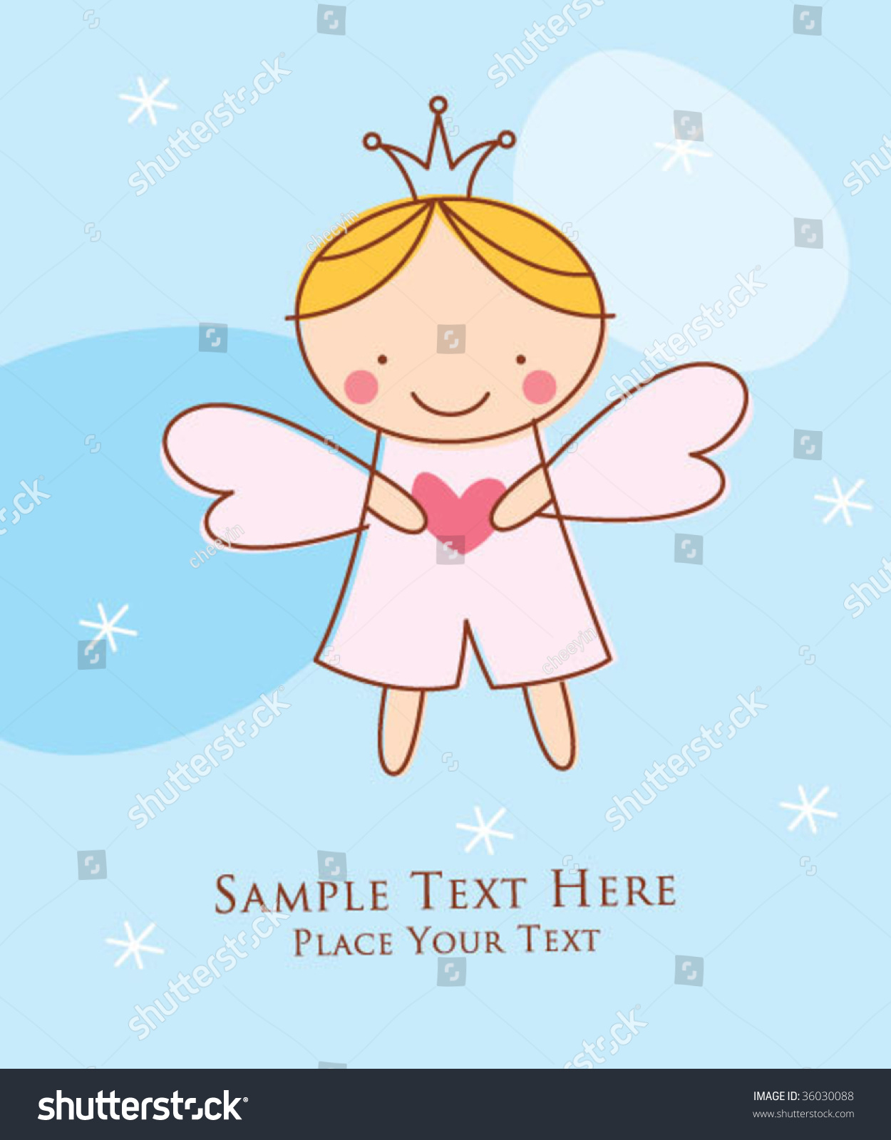 little prince birthday card ; stock-vector-little-prince-greeting-card-36030088