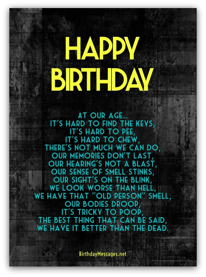 long happy birthday poems ; funny-birthday-poems8A