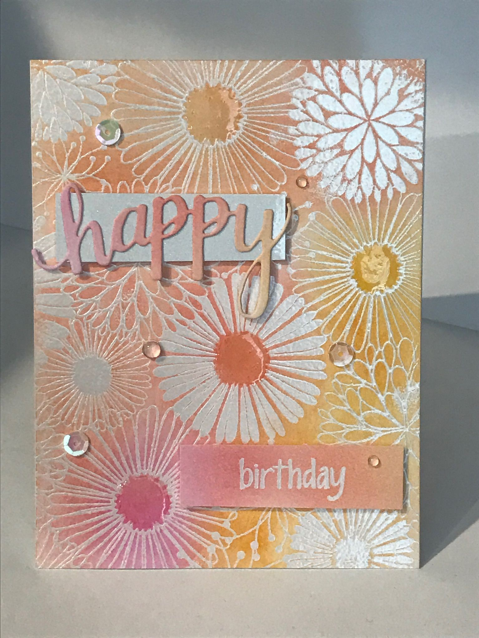 luna lovegood birthday card ; artistic-birthday-cards-inspirational-birthday-card-embossing-ink-blending-with-emboss-resist-cuts-of-artistic-birthday-cards