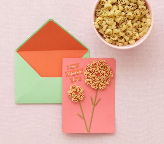 macaroni birthday card ; ae36273d99bf11bb7b84f74cf573b216--valentine-crafts-for-kids-kid-crafts