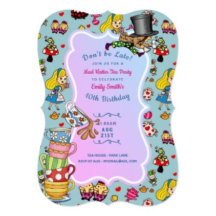 mad hatter birthday card ; 666a7252ab79a0d148164a1c43cb15f5