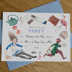 mad hatter birthday card ; preview_alice-in-wonderland-mad-hatter-tea-party-invitations