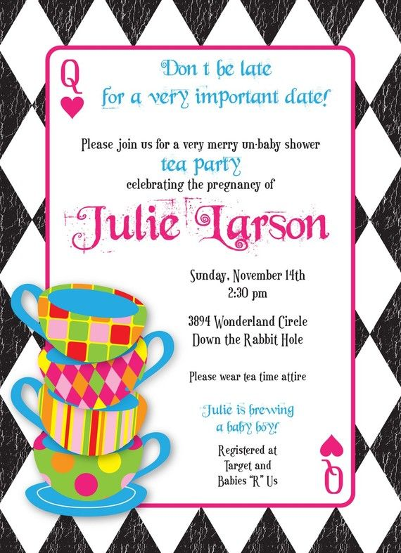 mad hatter tea party birthday invitation wording ; b3b10d6a4362a2d9f03ee52ce4884271--mad-hatters-tea-party-mad-hatter-tea