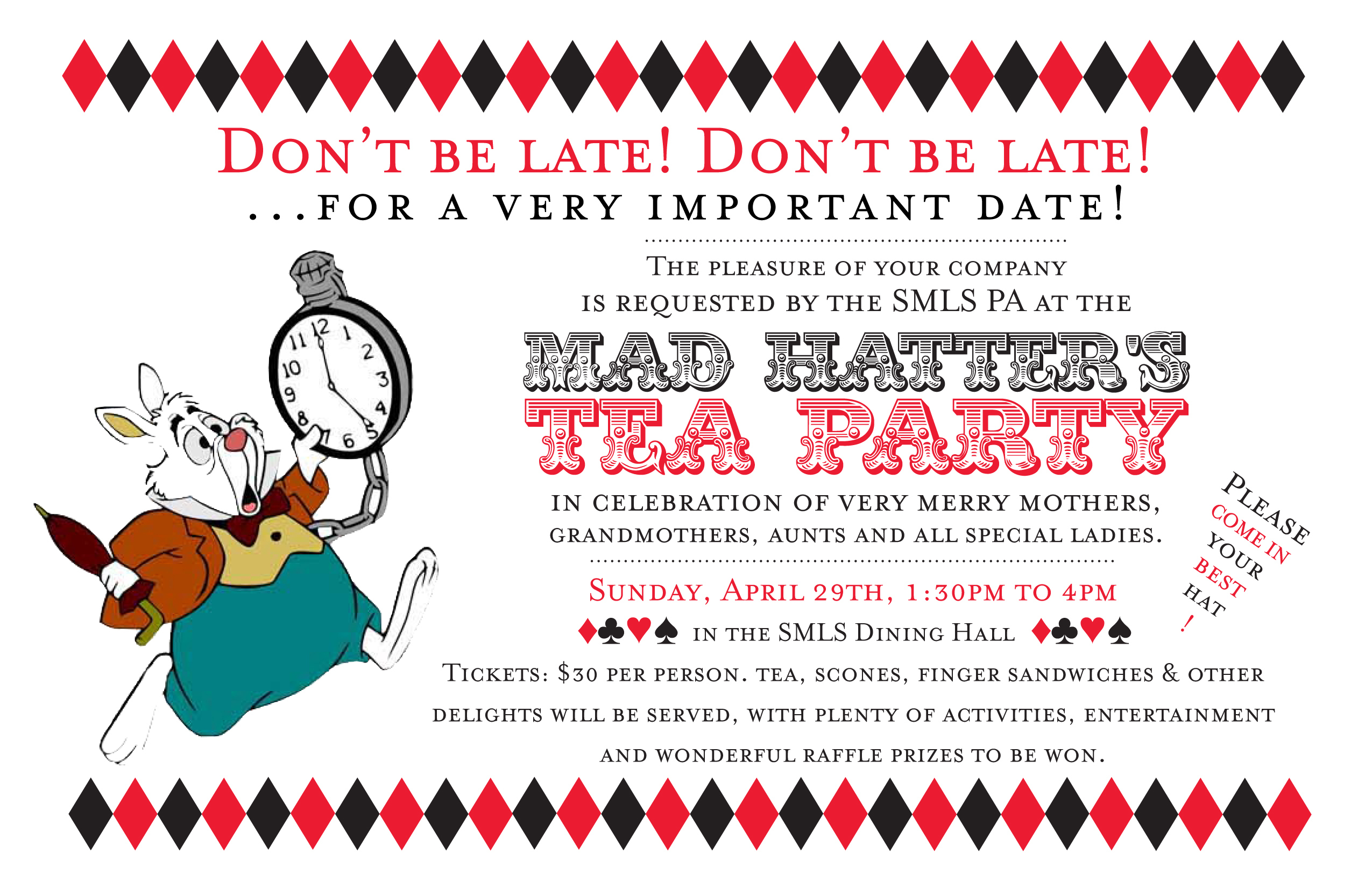 mad hatter tea party birthday invitation wording ; kids-tea-party-invitation-wording-mad-hatter-birthday-invitations-alanarasbach-com-2