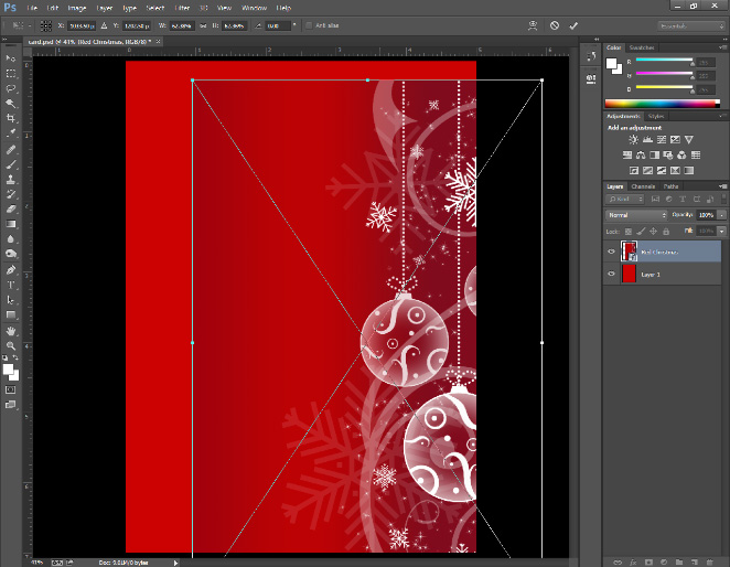 make a birthday card with photoshop ; create-christmas-cards-in-photoshop