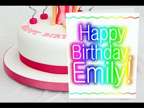 make a birthday card with photoshop ; hqdefault