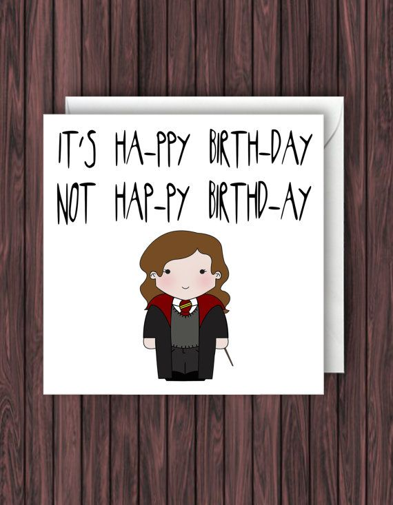 make your own harry potter birthday card ; aad78d77c00dd5a2758f973a37927b85