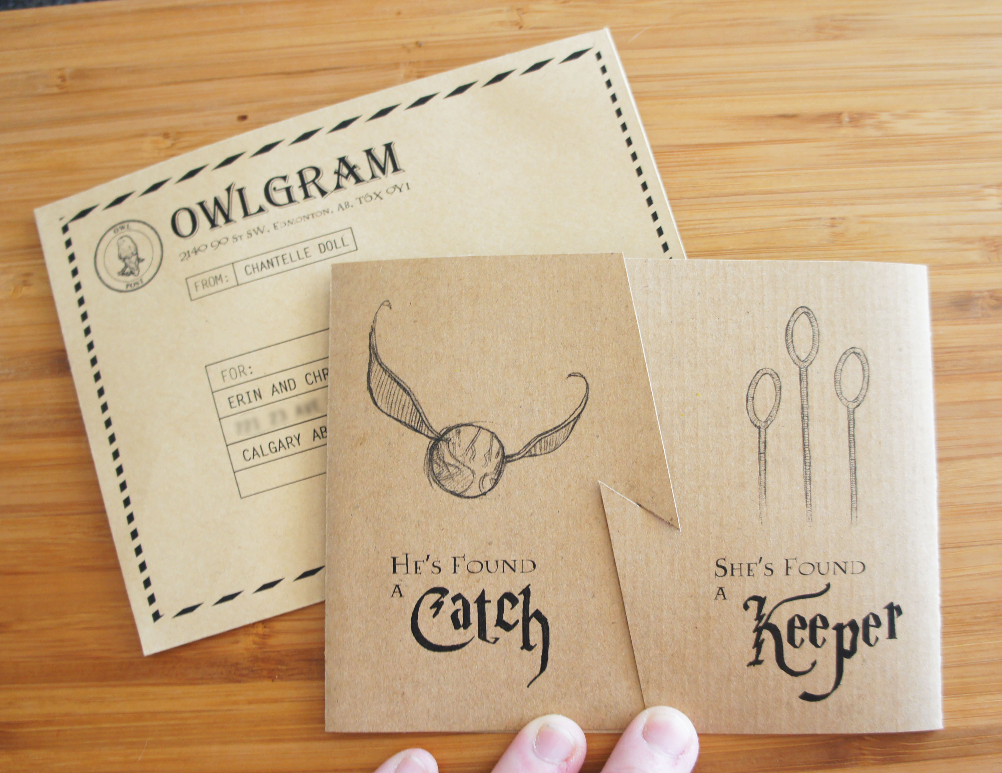 make your own harry potter birthday card ; hp_quidditchshowerinvites_outside