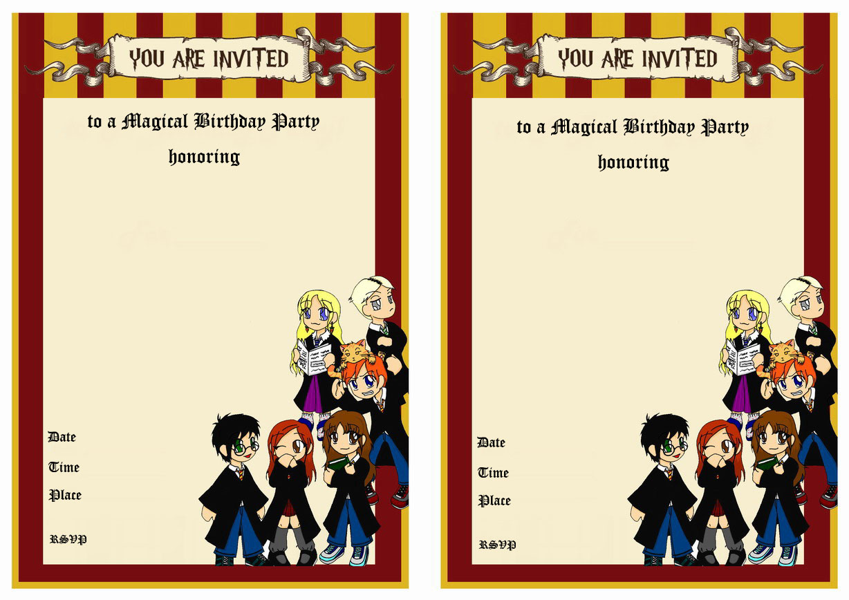 make your own harry potter birthday card ; innovative-harry-potter-birthday-card-template-by-luxurious-birthday