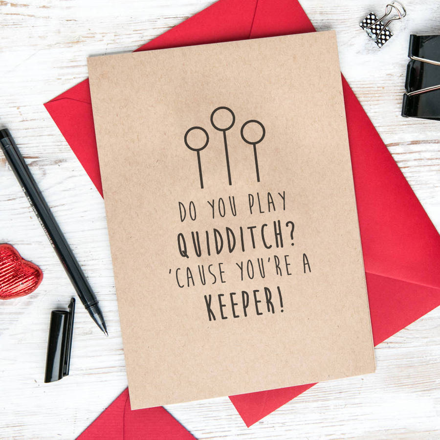 make your own harry potter birthday card ; original_you-re-a-keeper-harry-potter-greetings-card