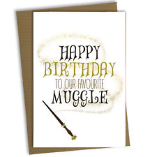 make your own harry potter birthday card ; s-l225