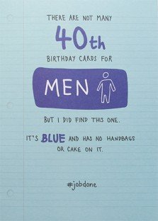 male 40th birthday card ideas ; 31EfrzCBjAL