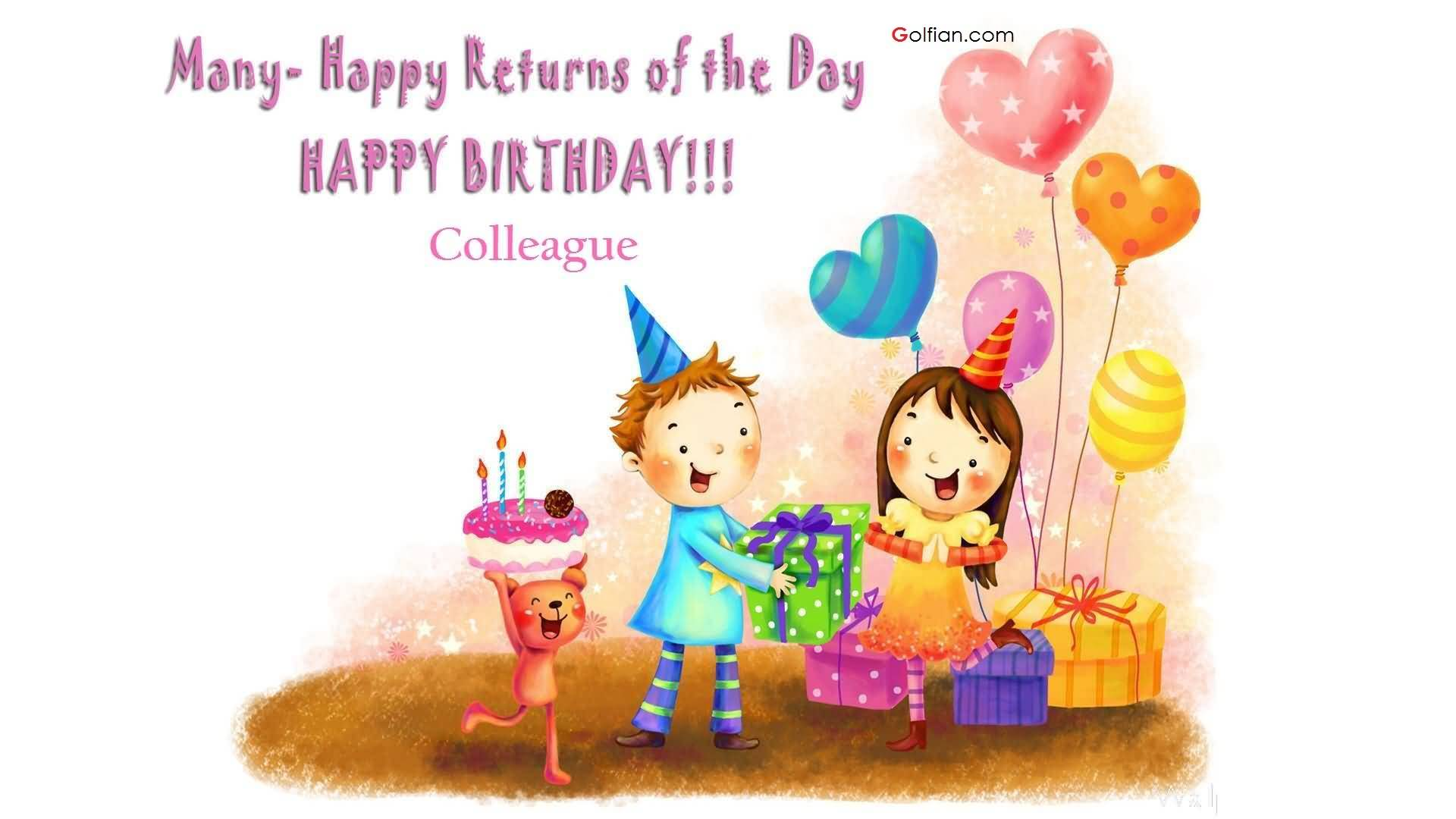 many many happy returns of the day happy birthday message ; Best-Birthday-Wishes-For-Colleague-Greetings