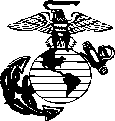 marine corps birthday clip art ; marine-corps-emblem-drawing-37